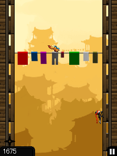 Mobile game Ninja Jumping - screenshots. Gameplay Ninja Jumping