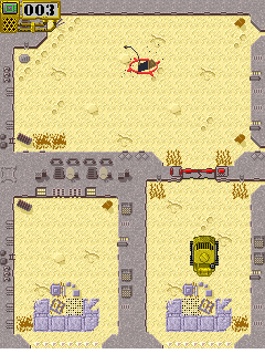 Mobile game Desert Rat - screenshots. Gameplay Desert Rat