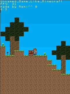 Mobile game Minecraft 2D Clone - screenshots. Gameplay Minecraft 2D Clone