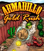 Download free mobile game: Armadillo Gold Rush - download free games for mobile phone