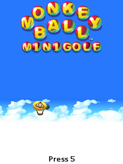 Download free mobile game: Monkey Ball Minigolf - download free games for mobile phone