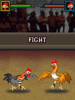 Mobile game Cock Fighting Warriors - screenshots. Gameplay Cock Fighting Warriors