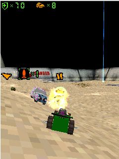Mobile game Twisted Metal 4 3D - screenshots. Gameplay Twisted Metal 4 3D