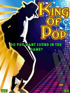 Download free mobile game: King of Pop-Michael Jackson - download free games for mobile phone