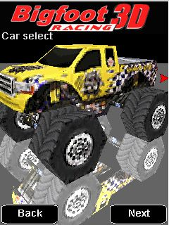 Mobile game Bigfoot Racing 3D - screenshots. Gameplay Bigfoot Racing 3D