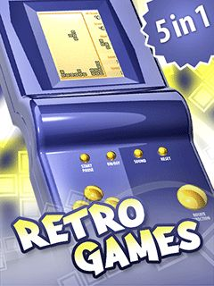 Mobile game Retro Games 5 in 1 - screenshots. Gameplay Retro Games 5 in 1