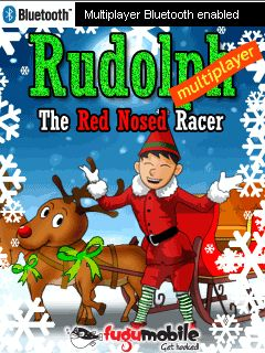 Download free mobile game: Rudolph: The Red Nosed Racer - download free games for mobile phone