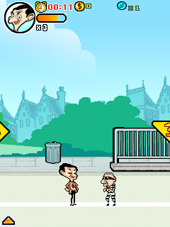 Mobile game Mr. Bean: Around the World Adventure - screenshots. Gameplay Mr. Bean: Around the World Adventure
