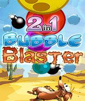 Download free mobile game: 2 in 1: Bubble Blaster - download free games for mobile phone