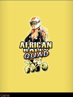Download free mobile game: African Rally Quad - download free games for mobile phone