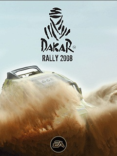 Download free mobile game: Dakar Rally 2008 - download free games for mobile phone