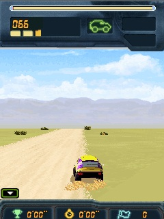 Mobile game Dakar Rally 2008 - screenshots. Gameplay Dakar Rally 2008