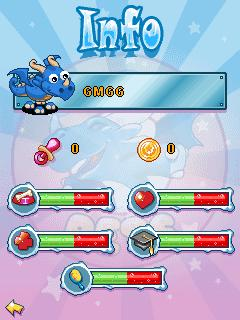 Mobile game Goosy Pets: Dragon - screenshots. Gameplay Goosy Pets: Dragon