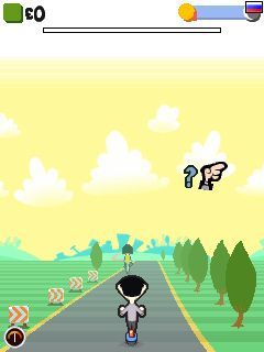 Mobile game Mr.Bean Racer 2 - screenshots. Gameplay Mr.Bean Racer 2