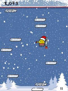 Mobile game Doodle Jump Deluxe - screenshots. Gameplay Doodle Jump Deluxe