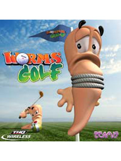 Download free mobile game: Worms Golf MOD - download free games for mobile phone