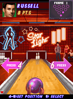Mobile game Midnight Bowling - screenshots. Gameplay Midnight Bowling