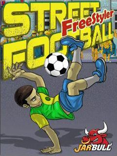 Mobile game Street Football Freestyler - screenshots. Gameplay Street Football Freestyler