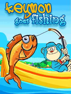 Mobile game Keymon Goes Fishing - screenshots. Gameplay Keymon Goes Fishing