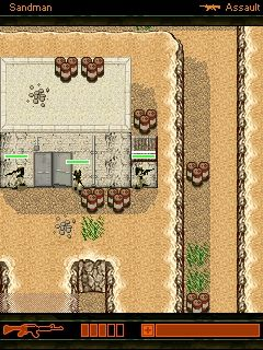 Mobile game Desert Commandos - screenshots. Gameplay Desert Commandos