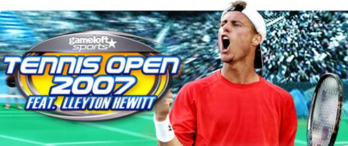Mobile game Tennis Open 2007 feat. Lleyton Hewitt - screenshots. Gameplay Tennis Open 2007 feat. Lleyton Hewitt