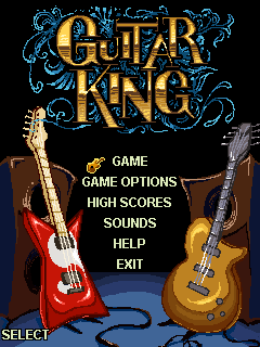 Mobile game Guitar king - screenshots. Gameplay Guitar king