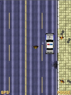 Mobile game Grand theft auto - screenshots. Gameplay Grand theft auto