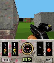 Mobile game Paintball - screenshots. Gameplay Paintball