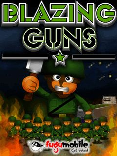 Mobile game Blazing Guns - screenshots. Gameplay Blazing Guns
