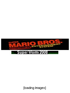 Download free mobile game: Mario Bros Super Worm 2008 - download free games for mobile phone