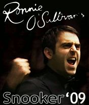 Download free mobile game: Ronnie O'Sullivan's Snooker 2009 - download free games for mobile phone