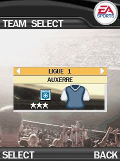 Mobile game FIFA 2007 - screenshots. Gameplay FIFA 2007