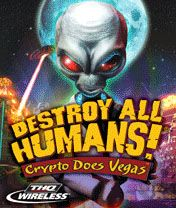 Mobile game Destroy All Humans 3: Crypto Does Vegas - screenshots. Gameplay Destroy All Humans 3: Crypto Does Vegas