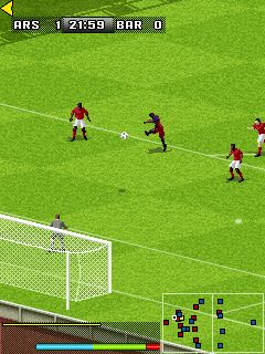 Mobile game FIFA 2008 - screenshots. Gameplay FIFA 2008