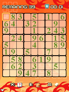 Mobile game Platinum Sudoku - screenshots. Gameplay Platinum Sudoku