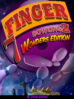 Download free mobile game: Finger Bowling 2: 7 Wonders Edition - download free games for mobile phone