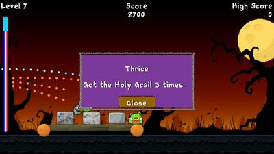 Mobile game Angry Birds Halloween - screenshots. Gameplay Angry Birds Halloween