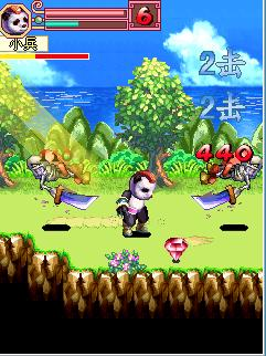 Mobile game Kung Fu Panda 2 (China) - screenshots. Gameplay Kung Fu Panda 2 (China)