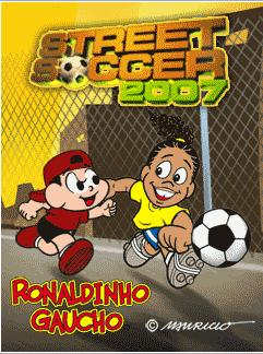 Mobile game Ronaldinho Street Soccer 2007 - screenshots. Gameplay Ronaldinho Street Soccer 2007