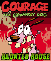 Download free mobile game: Courage the Cowardly Dog: Haunted House - download free games for mobile phone