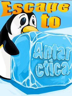 Mobile game Escape to Antarctica - screenshots. Gameplay Escape to