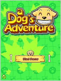 Download free mobile game: A Dog's Adventure - download free games for mobile phone