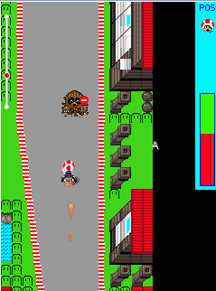 Mobile game Mario Kart Movil - screenshots. Gameplay Mario Kart Movil