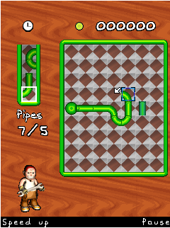 Mobile game Pipe Mania - screenshots. Gameplay Pipe Mania
