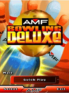 Download free mobile game: AMF Bowling Deluxe - download free games for mobile phone