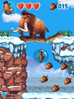 Mobile game Ice Age 4: Continental Drift - screenshots. Gameplay Ice Age 4: Continental Drift