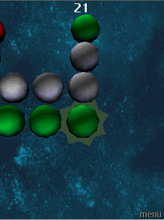 Mobile game 3D Marble Matrix - screenshots. Gameplay 3D Marble Matrix