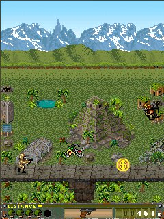 Java game screenshots Special Forces. Gameplay Special Forces