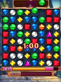 Mobile game Bejeweled 3 - game kim cuong 3