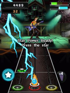 Mobile game Guitar Hero 5 Mobile: More Music - screenshots. Gameplay Guitar Hero 5 Mobile: More Music